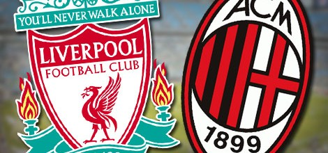 Liverpool v AC Milan Betting