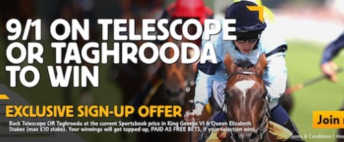 Betfair Special Bets Get 9/1 Telescope or Taghrooda
